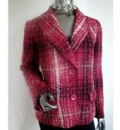 OscarB - Tweed Jacket, Cerise-Pink / Code: 56541-P